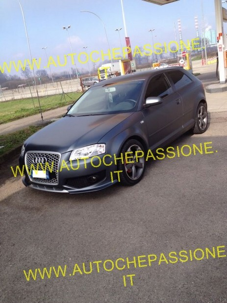Paraurti Audi A3 RS3 look S3